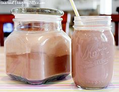 Homemade Nesquik . . . Chocolate Milk Makes A Comeback!
