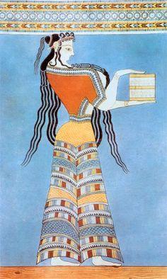 mycenaeanfresco.jpg   Minoan Costume
