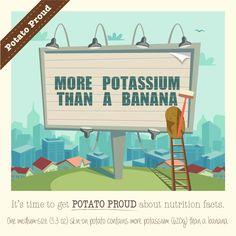 Calories in a Potato Potato Nutrition, Types Of Potatoes, School Community, School Programs, Farm Gardens, Sustainable Design, Potato Recipes, Infographic