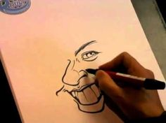 How To Draw Caricatures - Best Way on Youtube - Learn Quickly!!!! - YouTube