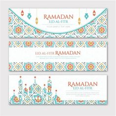Cool Ramadan Kareem Banners Cards Set Free Download  http://www.cgvector.com/?s=ramadan