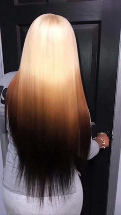 Shop our online store for Brown hair wigs for women.Brown Wig Lace Frontal Hair Orange Bleached Hair From Our Wigs Shops,Buy The Wig Now With Big Discount. Wig Styles, Curly Hair Styles, Natural Hair Styles, Long Braids Styles, Frontal Hairstyles, Wig Hairstyles, Colored Weave Hairstyles, Hairstyle Ideas, Bangs Hairstyle