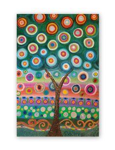 Original Handpainted Textured Abstract by HeatherMontgomeryArt, $195.00