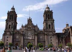 Catedral Metropolitana Cd. de México fachada principal by shernandezg