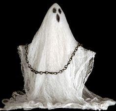 halloween ghost DIY