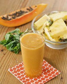 Weight Loss Recipes: Weight Loss Recipe Martha's Pineapple-Papaya Juice