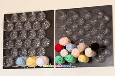 Learning to Crochet is as Easy as Knitting Room, Knitting Storage, Yarn Storage, Craft Room Storage, Knitting Yarn, Recycled Crafts, Diy And Crafts, Yarn Organization, Craft Corner