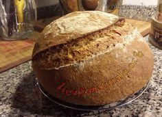 Pane Integrale con farina integrale e Lievito Madre Naturale o Pasta Madre