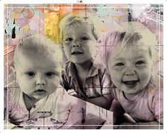 Je eigen pop-art, met jouw foto's. Gemaakt door www.personal-art.nl