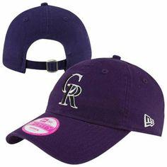 Colorado Rockies New Era Ladies Adjustable Hat