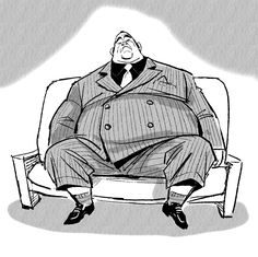 Film: Big Hero 6 ===== Character: Yama ====== Note: a design of his early development as a member of the Yakuza Fat Character, Comic Character, Character Concept, Concept Art, Character Design Animation, Character Design References, Gangsters, The Big Hero, Jin