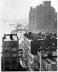 Night sky city in the 1900 america roof tops - Google Search