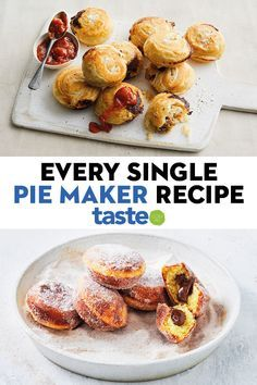 Mini Pie Recipes, Cooking Recipes, Cooking Ideas, Just Pies, Waffle Iron Recipes, Aussie Food, Homemade Pancakes, Baking And Pastry, Savory Snacks