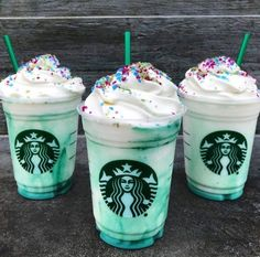 Just When We Thought We Were Over Crazy Starbucks Drinks, The Crystal Ball Frappuccino Makes Its Debut Starbucks Crystal Ball Frappucino Coming March 22 - Simplemost Starbucks Frappuccino, Comida Do Starbucks, Starbucks Secret Menu Items, Secret Starbucks Recipes, Bebidas Do Starbucks, Starbucks Secret Menu Drinks, Secret Starbucks Drinks, Starbucks Blue Drink, Cupcakes