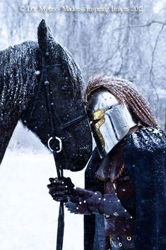 "swiftsnowmane: War Horse 01 by *MeetMeAtTheLake2Nite  ""Nothing burns like the cold.""   ― George R.R. Martin,  A Game of Thrones"