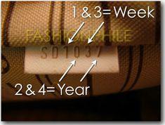 Louis Vuitton datecode after 2007