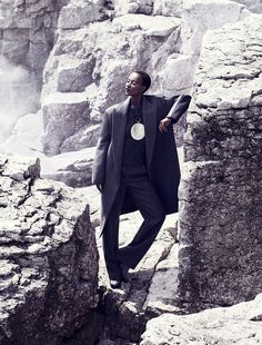 Herieth Paul for Fashion September 2013 by Chris Nicholls