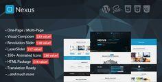 Nexus - Multi/One-Page Business WordPress Theme