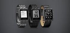 Pebble Steel, la SmartWatch avec écran E-Paper s'habille d'Acier