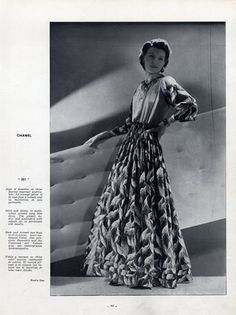 Chanel 1939 Evening Gown, Photo Dax Studio