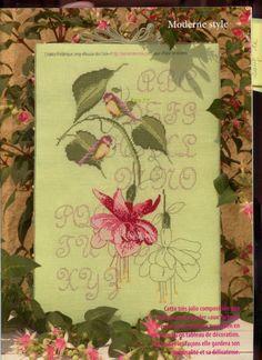 fuchsia & birds 1/3