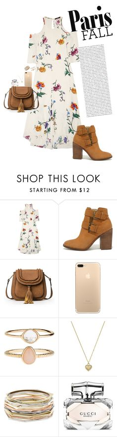 """""""Untitled #622"""" by soso-424-22 ❤ liked on Polyvore featuring TIBI, Steve Madden, Accessorize, Michael Kors, Kendra Scott, Gucci, Oris and fallgetaway"""