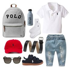 """""""LIL BOY DAYOUT"""" by mitchteryosa on Polyvore featuring Carter's, Cole Haan, Polo Ralph Lauren, Ralph Lauren and Design Letters"""
