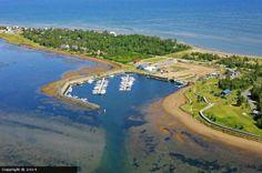 Bathurst Marina in Bathurst, New Brunswick, Canada