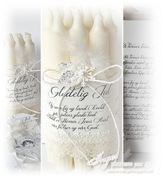 Christmas Candles by Inger Harding