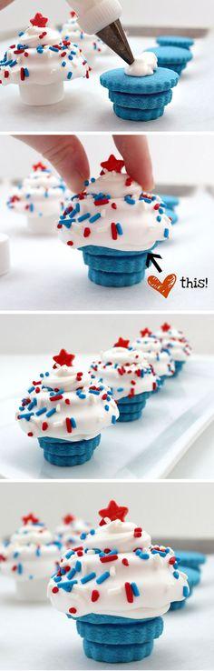 cookie cupcake!