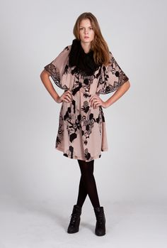 Dress, scarf, tights from numph - I wouldn't wear this at all! ;-)