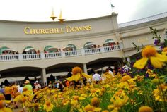 Churchill Downs, where the Kentucky Derby is held each year.