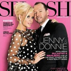 'Love' story: Jenny McCarthy and Donnie Wahlberg Celebrity Couples, Celebrity Weddings, Donnie And Jenny, Wahlberg Brothers, Donnie Wahlberg, Block Party, Celebs, Celebrities, Celebrity