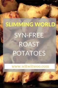 These Slimming World Oxo roast potatoes are syn-free and absolutely delicious! Great for roast dinners and ... well, any dinner! Add a little sprinkle of salt on top for added flavour.