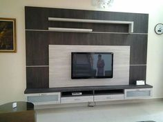 Home Furniture Lcd Unit Design Lcd Panel Design, Home, Tv Wall Design, Home Entertainment Furniture, Wall Unit Designs, Interior Room Decoration, Living Room Tv Unit Designs, Wall Tv Unit Design, Dining Room Furniture Modern