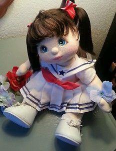 Gorgeous Brunette Puppy Tails Sailor Girl My Child Doll | eBay