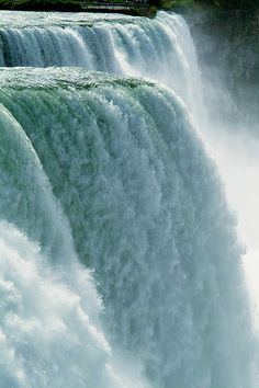 Niagara Falls--Water Power (vertical) by IronRodArt - Royce Bair (Busy this week), via Flickr