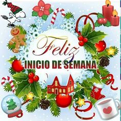 Good Morning In Spanish, Good Morning Good Night, Good Morning Quotes, Merry Christmas And Happy New Year, Christmas Time, Christmas Bulbs, Xmas, Happy Week, Christmas Pictures
