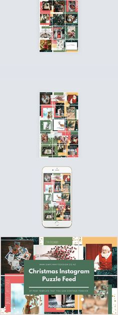 Instagram Post Template IS002 Instagram Pinterest Template and