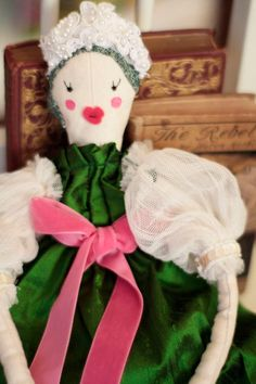 Princess Ragdoll Cloth Doll OOAK Handmade by EagleAndPhoenixGoods on Etsy