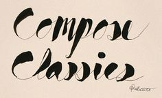 Chris Ballasiote's expressive, hand-lettering style
