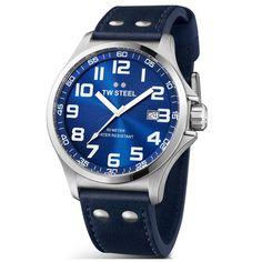 TW Steel Men's TW401 'Pilot' Dial Watch