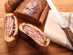 Muffuletta Shooter's-Style Sandwiches