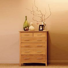 Hereford Solid Oak  Chest (Storage 3 Over 2, 3 Over 4, 4 Over 2) -  - Chest Of Drawers - Ametis - Space & Shape - 1