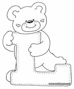 4 Modelos de Alfabeto Completo para Colorir e Imprimir - Online Cursos Gratuitos Colouring Pics, Coloring Sheets, Coloring Books, Coloring Pages, Felt Patterns, Applique Patterns, Alphabet Templates, Embroidery Alphabet, Alphabet And Numbers
