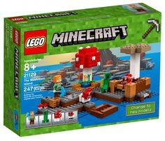 LEGO Minecraft 21129 : Le biome champignon