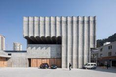 atelier deshaus taizhou contemporary art museum