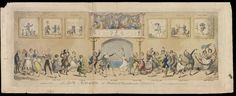 """La Belle Assemblee"", H Beard Print Collection | Cruikshank, George | V&A Museum #S.212-2009, 1817"