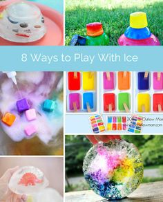 Creative ice activities to keep the kids cool during summer!
