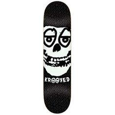 Krooked Skateboards  Krooked Krimson Deck LARGE 8.25x32